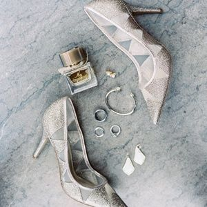 Adrianna Papell Champagne Heels